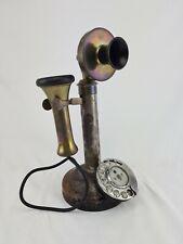Antikes GPO Stalloy No. 12 Wählscheibe Telefon original Zustand 1905-1920 RAR