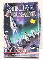 """Stellar Crusade PC Game for Atari 520 ST 3.5""""  Disks SSI 1988 in Box"""
