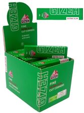 GIZEH FINE 66 EXTRA SLIM SMOKING CIGARETTE TOBACCO ROLLING PAPERS PACKS