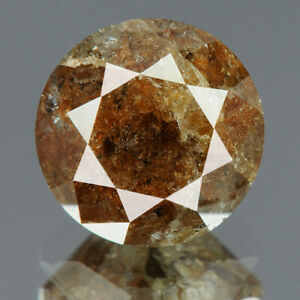 2.35 cts. CERTIFIED Round Brilliant Gray Brown Color Loose Natural Diamond 16833