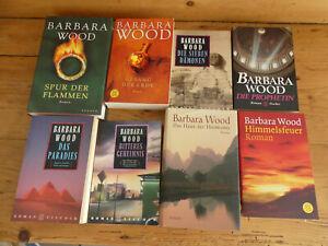 Paket 24 Bücher  - 11x Barbara Wood - (Historische) Romane, Frauen-Romane u.a.