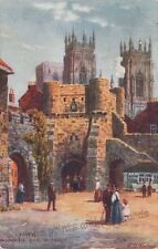 York Raphael Tuck & Sons Collectable English Postcards
