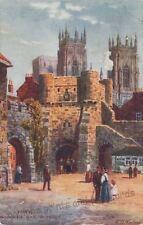 York Raphael Tuck & Sons Printed Collectable English Postcards