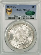1883-CC Morgan Dollar PCGS MS66+ CAC Plus Graded Beauty! #BNT8