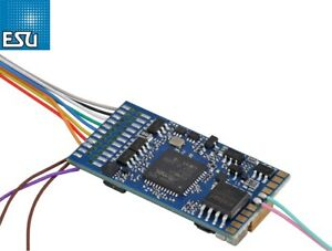 "ESU 58210 LokSound 5.0 FX DCC/MM/SX/M4 ""Leerdecoder"" 8-polig NEM 652 - NEU + OVP"