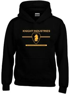 Knight Industries Knight-rider 80s TV show  Mens Hoodie
