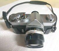Konica Camera Vintage 57mm Lens Film 1 Autoreflex 8 Hexanon Case W F Auto Japan