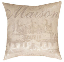 French Chateau Maison Pillow