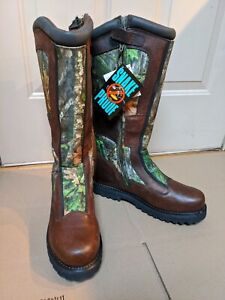 Mens 10M Redhead Snake Proof Boots Waterproof Boots Camo Hunting