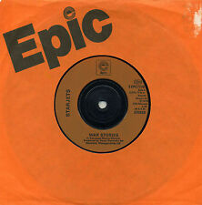 "Starjets - War Stories 7"" ORANGE MOULD INJECTION LABELS Tango Brigade Power Pop"