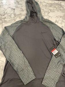 $70 Nike Pro Therma Men's Size Large Training Hoodie BV5663-070 Long-Sleeve NWT