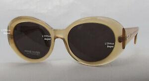 Anne Klein Vintage Sunglasses 3009 51/18 Colour Sand Lens Grey Vintage