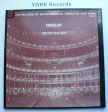 ACC 150030 - BEETHOVEN - Fidelio WALTER Met Opera NY - Ex 3 LP Record Box Set