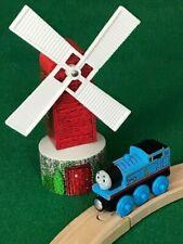 THOMAS & FRIENDS WOODEN RAILWAY SODOR WINDMILL for TRAIN ENGINE BRIO SETS
