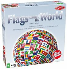 Flags around the World Board Game by Tactic:  2-6 players, ages 8 plus