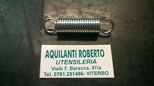 molla a trazione acciaio armonico zincata L63,2mm - ø 14,4mm - filo 2mm  98129