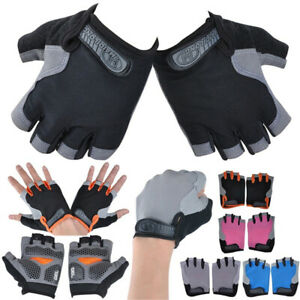 Bike Half Finger Cycling Gloves Bicycle Gloves Riding Gloves Bodybuilding