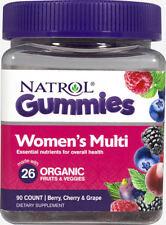 Natrol Gummies Women's Multi Berry, Cherry & Grape Dietary Supplements 90 Count