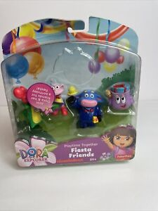 DORA THE EXPLORER PLAYTIME TOGETHER FIESTA FRIENDS  RETIRED
