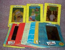 The SIMPSONS SERIES 1 ( ONE ) Filmcardz   Complete Trading Card Set   Artbox