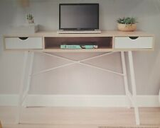 MICHIGAN Contemporary Computer Desk with Storage Home Office Study Console Table