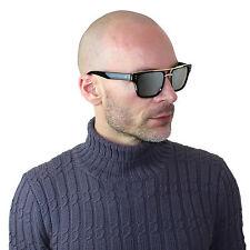 Mach Square Vintage Aviator Metal Bar Black Men Designer Sunglasses