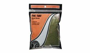 Woodland Scenics 43 Fine Turf Burnt Grass New Free Shipping