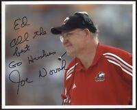 Joe Novak Signed 8x10 Photo College NCAA Football Coach Autographed