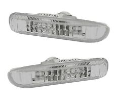 2 Repeater BMW Serie 3 E46 Cabriolet 330CI 1999-2003 White Crystal