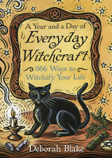 A Year And A Day Of Everyday Witchcraft Witch Craft Wicca Wiccan Paperback Book