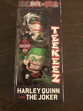 SDCC 2019 Cryptozoic Exclusive Teekeez Harley Quinn & Joker LE 300 Black White