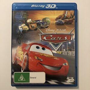 Cars 3D Blu Ray Movie VGC Disney Pixar Region Free Single Disc Rare