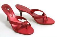 476 à Enfiler Cuir Via Uno Rivet Sandales Sandalettes Tongs Chaussures D'Été 37