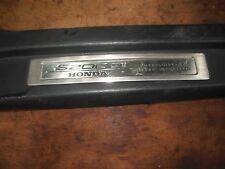 JDM Honda S2000 Right Side Door Sill Scuff Plate Passenger Black Trim 2000-2005