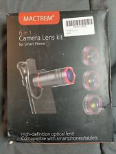 *Nib* Mactrem 6 in 1 Camera Lens Kit for Smart Phone with Case