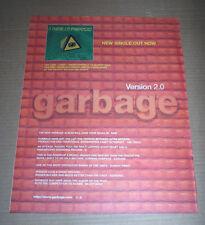 GARBAGE - I THINK I'M PARANOID - 1998 Original MUSIC ADVERT POSTER 37 X 29CM