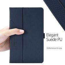 Poetic SlimFolio Blue Case Slim Leather【Auto Wake/Sleep】For Amazon Fire HD 8