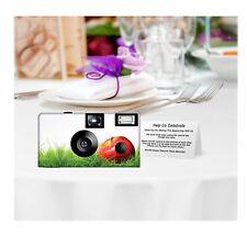 5 Apple Farm Disposable Cameras Wedding Cameras, Fuji film (F83426)