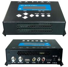New ClearView HD1010+ Single HD Digital Modulator MPEG4 HDMI & CVBS Inputs