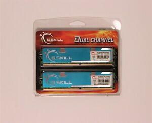 """G.SKILL 2GB (2x1GB) 240-Pin DDR2 SDRAM (PC2 8500) Dual Channel Kit """"New"""" (Blue)"""