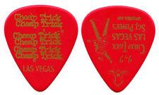 Cheap Trick Guitar Pick : 2009 Vegas Sgt Peppers Beatles Rick Nielsen tour red