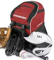 Soccer Backpack Youth Kids Ages 6 & Up  by DashSport All Sports Bag Gym Baseball