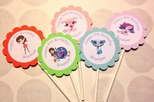 Littlest Pet Shop Customized Cupcake Toppers/ Picks 12 count