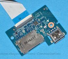 Dell Latitude 3570 Laptop SD Card Reader Board + USB Port Board W/ Cable