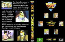 DVD - Bionic Six Complete-65 Eps (Tintin, Ghostbusters)