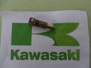 KAWASAKI ZX6R ZX6-R F KEIHIN CARBURETOR FLOAT BOWL DRAIN SCREW CVK-DKE 1995 - 97