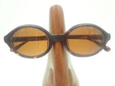 Vintage Emporio Armani 576-S 063 Tortoise Oval Sunglasses Frames Italy