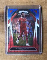 "2020-2021 Premier League Prizm Mohamed Salah ""RWB"" Pulsar #255 Liverpool FC"