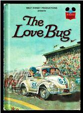 THE LOVE BUG ~ Disney's Wonderful World Of Reading Book 1st Edition  HERBIE ~ VW