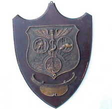 Antique Dr Doctor Nicholas P Greusel Medical Plaque Wayne County / Detroit MI